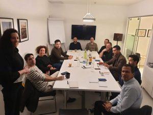מפגש ראשון לפורום 'YPO – כן Give'